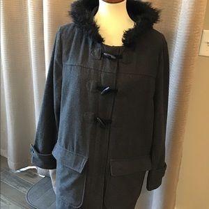 Old Navy woolblend Hooded  jacket